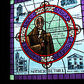 Stained Glass Window In Mother Bethal Church            by Carl Purcell