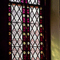 Stained Glass Window In Saint Paul's Episcopal Church-1882 In Tombstone-az by Ruth Hager