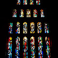 Stained Glass Windows At Basilica Of The Annunciation by Eva Kaufman