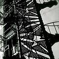 Stairs And Shadows by Gabriel Estrada