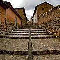 Stairs In Chinchero Peru by Jared Bendis