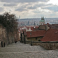 Stairs To Prague by Elvis Vaughn