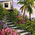 Stairway Garden by Darice Machel McGuire