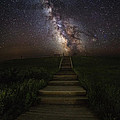 Stairway To The Galaxy by Aaron J Groen