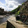 Staithes Harbour by Deborah Benbrook
