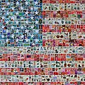 Stamps And Stripes by Gary Hogben