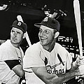 Stan Musial And Ted Williams by Daniel Hagerman
