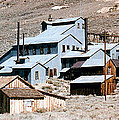 Standard Mill At Bodie Panorama by Barbara Snyder