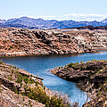 Standing In A Ravine At Lake Mead by  Onyonet  Photo Studios