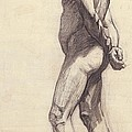 Standing Male Nude by Felix Edouard Vallotton