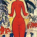 Standing Nude by Amedeo Modigliani