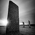 Standing Stones Of Stenness by Dave Bowman