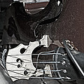 Standup Bass At Rest by Andy Crawford