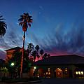 Stanford University Quad Sunset by Scott McGuire
