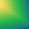 Star Beam In Yellow Green And Blue  by Karen Nicholson