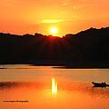 Star Burst Sunset by Lorna R Mills DBA  Lorna Rogers Photography