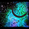 Star Child - Time To Go Home by Absinthe Art By Michelle LeAnn Scott