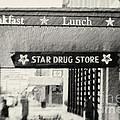 Star Drug Store Marquee by Scott Pellegrin
