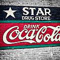 Star Drug Store Wall Sign by Scott Pellegrin