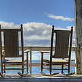 Star Island Rocking Chairs by Donna Doherty