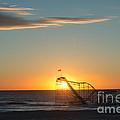 Star Jet Sunrise Silhouettte by Michael Ver Sprill