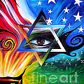 Star Of David. Symbol Of Immortal Nation by Sofia Metal Queen