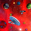 Star Ships by Michael Rucker
