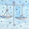 Star Sign Libra by Sushila Burgess