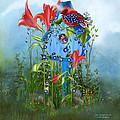 Star Spangled Birdie by Carol Cavalaris