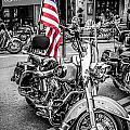 Star Spangled Harley by Chris Smith