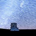 Star Trails Above Subaru Telescope by Jason Chu