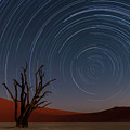Star Trails Of Namibia by Karen Deakin