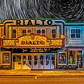 Star Trails Over The Rialto by Paul Freidlund