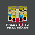 Star Trek - Press A To Transport by Brand A