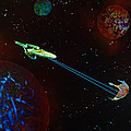 Star Trek -uss Enterprise by Michael Rucker