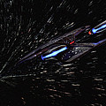 Star Trek - Wormhole Effect - Uss Enterprise D by Jason Politte