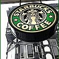 Starbucks Logo by Joan-Violet Stretch