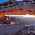 Starburst At Mesa Arch by Adam Jewell
