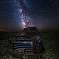 Stardust And Rust Gmc  by Aaron J Groen