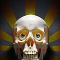 Staring Skull by Carlos Caetano