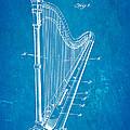 Starke Harp Patent Art 1931 Blueprint by Ian Monk