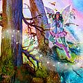 Starr Lynn Holly Berry Fairy by Teresa Ascone