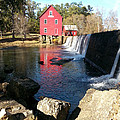 Starr's Mill In Senioa Georgia 2 by Donna Brown