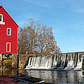 Starr's Mill In Senioa Georgia by Donna Brown