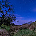 Starry Night Above Hadrians Wall by David Head