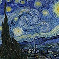 Starry Night by Masterpieces Of Art Gallery