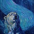 Starry Night Van Gogh Bear by Christine Montague