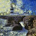 Starry Hook Head Lighthouse by Nigel R Bell