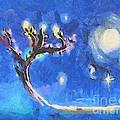Starry Tree by Pixel  Chimp