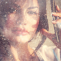 Starry Woman. Day Dreamer by Jenny Rainbow